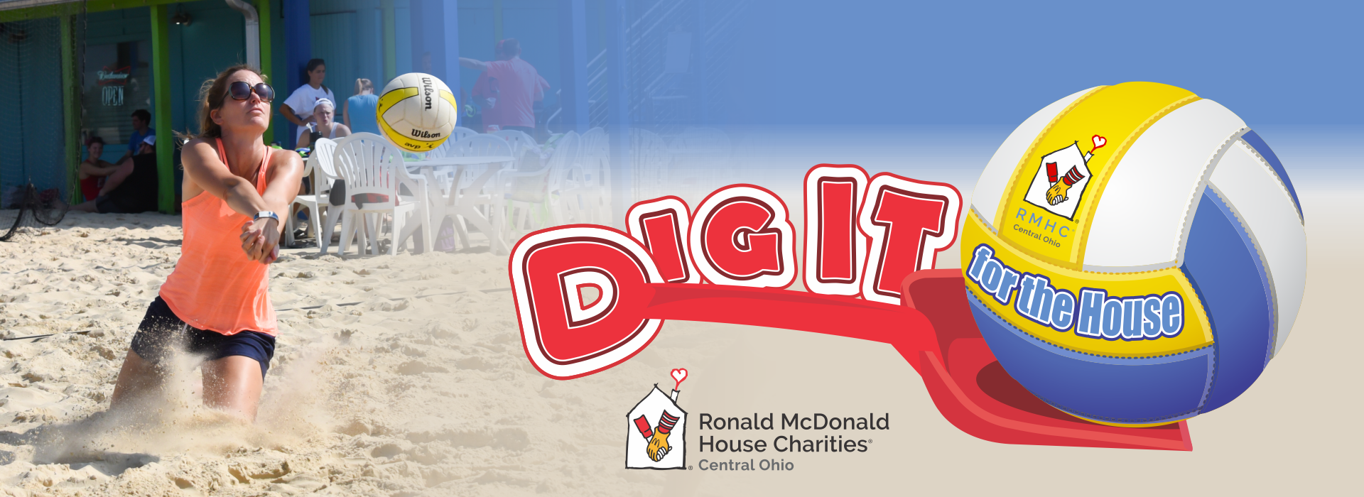 Ronald McDonald Dig It For The House Tournament