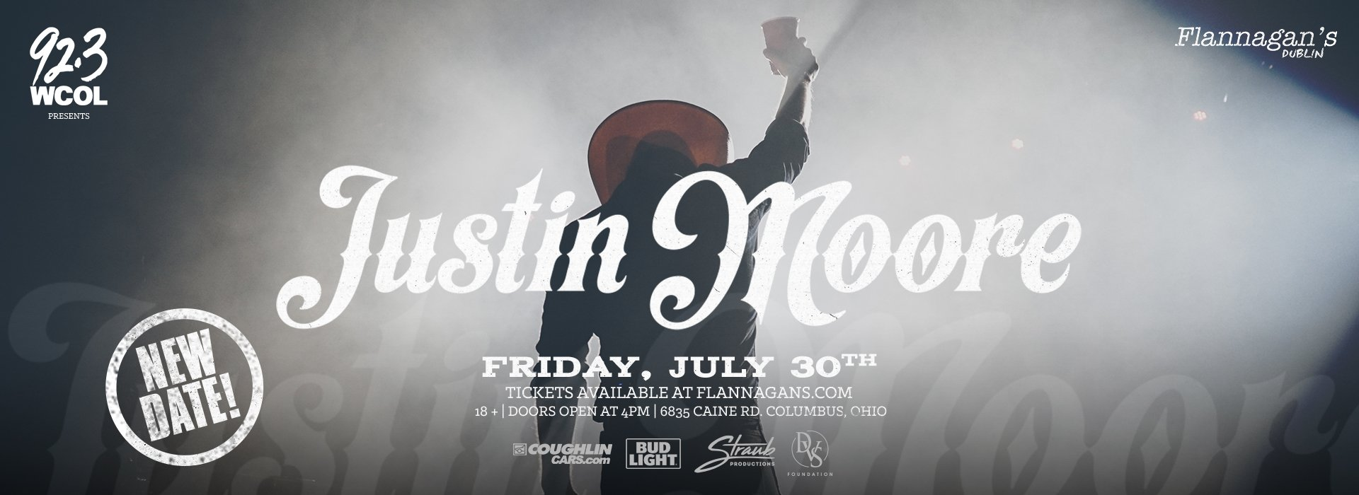 92.3 WCOL's Presents Justin Moore